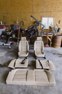 Bmw E36 Front And Rear Seats 325 328 323 318 94 95 96 97 98 Tan Coupe