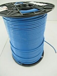 500ft Blue 10 Awg Thhn Gas oil Resistant Stranded Building Wire 600v Republic