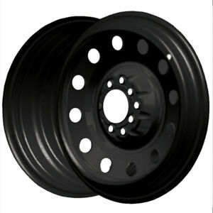 1 New 14x5 5 Pacer 84b Fwd Black Mod Wheel Rim 35 4x100 4x4 50