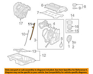 Gm Oem Engine Parts Guide Tube 12611013