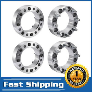 4pcs 8x6 5 To 8x6 5 Wheel Spacers Adapters Fits Most 8 Lug For Chevy Gmc 2 Inch
