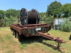 Extra Heavy Duty Military Trailer With Cable