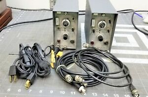 2 Kistler Kiag Swiss Type 5002 Dual Charge Amplifier Accelerometer C6s4