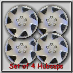 4 15 Silver Hubcaps Fits 1998 2003 Toyota Sienna Hub Caps Sienna Wheel Covers