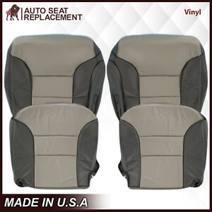 1999 2000 Chevy Tahoe Z71 Limited Vinyl Replacement Seat Cover In 2tone Gray