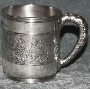 Antique Tiffany Sterling Child Cup Or Mug Children S Parade Outstanding
