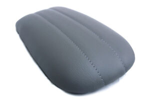 Fits 1997 2002 Ford Expedition Navigator Pvc Console Lid Cover Dark Gray 8 5x15