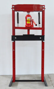 Auto Repair Tool 12 Ton H Frame Hydraulic Shop Press Floor Press Free Shipping