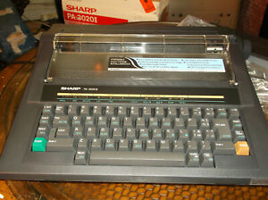 A New In Open Box Sharp Pa 3020 Ii Electronic Typewriter New In Open Box