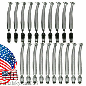Dental Fast Turbine High Speed Handpiece 4hole Quick Coupler Fit Kavo nsk Qd j