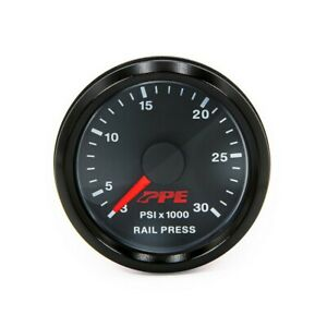 Ppe Diesel Fuel Rail Pressure Gauge Gm 2001 2005