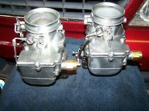 Vintage Ford Carburetor Rat Rod Flathead Pair Of Stromberg 97