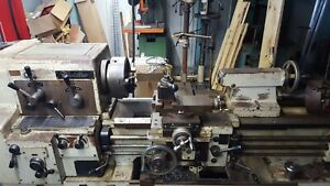 Cadillac Engine Lathe 9x36 With 5c Lever Collet 3 Jaw 4 Jaw