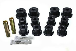 Leaf Spring Bushing set Rear Energy 1 2101g Fits 86 95 Suzuki Samurai