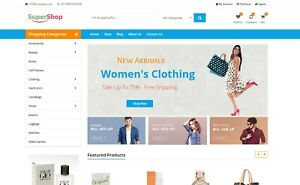 Amazon Aliexpress Ebay Affiliate Website For Sale All in one Ecommerce Website