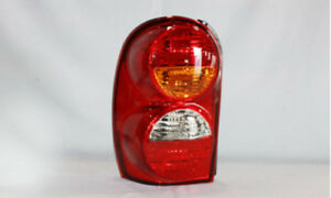 Tail Light Assembly Left Tyc 11 5886 01 Fits 02 04 Jeep Liberty