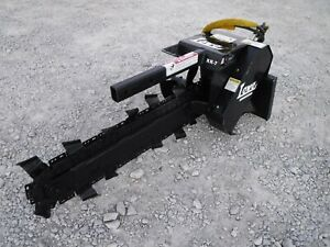 Lowe Xr7 36 X 6 Trencher Attachment Dirt Teeth Fits Toro Dingo Mini Skid Steer
