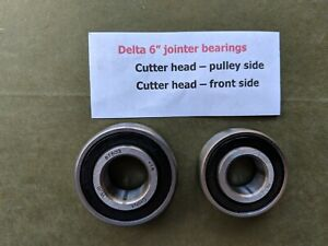 Set Of Two Bearings For A Vintage Delta 6 Jointer