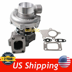 T04e T3 t4 48 A r 50 Trim Turbo turbocharger Compressor 300 hp Boost Stage Iii