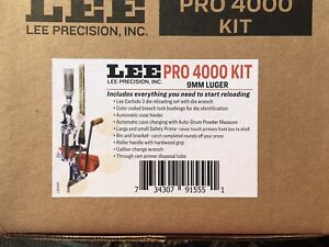 LEE Pro 4000 Progressive Press Kit 9MM New In Box With Additional Shell Holders $345.00