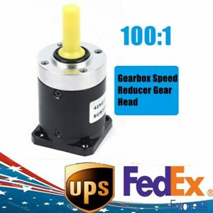 Planetary Gearbox Ratio 100 1 Speed Reducer For Nema17 Stepper Motor Low Noise