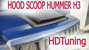 Hood Scoop For H3 H3t