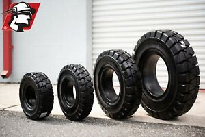 Forklift Tire 21x8 9 Solid Pneumatic Double Shift Quality For Toyota