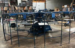 M r Challenger 12 10 Automatic Screen Printing Press