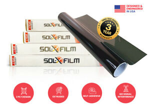 Diablo Sol x Film 36 X 100 Ft Roll 2 Ply 35 Window Tint Professional Grade