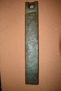 Vintage Ideal 22lbs Weight Ballast Bar 21 5 Tractor Equipment Machinery