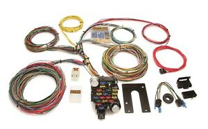 Painless Wiring 10202 28 Circuit Classic Plus Customizable Chassis Harness