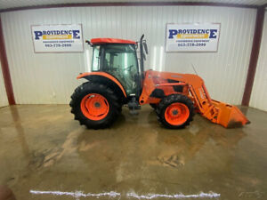 Kubota M8540d 4x4 Cab With A c Heat La1353 Loader W Quick Attach