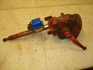1957 Ford 640 Tractor Manual Steering Box 600