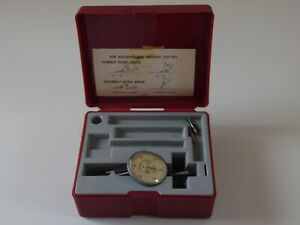 Interapid Dial Indicator 312b 1 0005 With Case Machinist Tool