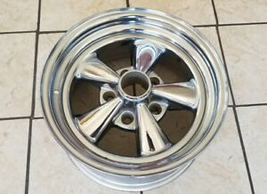 Cragar Ss Classic 16x8 5 Lug By 5 Inch Mag Wheel Rim Used No Cap