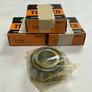 Timken 1755 Tapered Roller Bearing Cone Lot Of 3 Nos