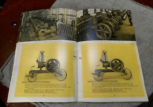 Stickney Antique Hit Miss Gas Engine Catalog Manual Booklet Steam Hot Air Lit