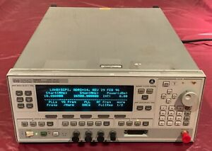 Hp 83630a 83630a 001 008 h53 8360 Series Synthesized Sweeper 10mhz To 26 5ghz