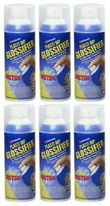 Lot Of 6 Plasti Dip Glossifier Spray 11oz Can Clear Gloss New