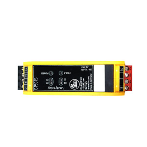 Ifm G1501s Safety Relay Programming And Diagnostic Module 24vdc