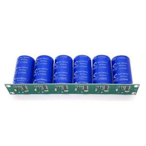 6pcs 16v 83f Super Farad Capacitor Single Row With Protection Board 2 7v 500