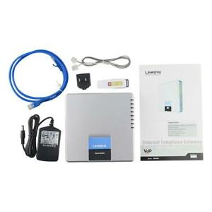 Unlocked Linksys Spa400 Voip Phone Gateway 4 Fxo Ports 1 Usb Port Voip Adapter