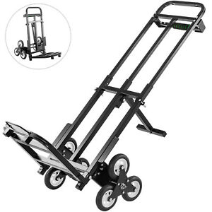 Portable Stair Climbing Folding Cart 460lbs Climb Hand Truck Dolly All Terrain