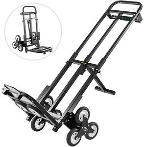 Portable Heavy Duty Stair Climbing Cart 460lbs Hand Truck With Backup Wheels