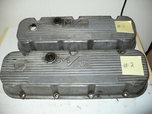 Vintage 2 Mickey Thompson Chevrolet 396 427 Valve Covers 3276396