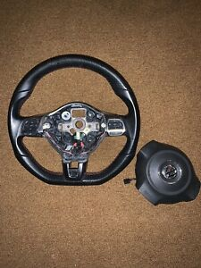 Vw Mk6 2012 2014 Gli Steering Wheel Assembly With Airbag Oem