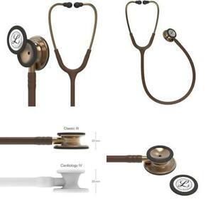 3m Littmann Classic Iii Monitoring Stethoscope Copper finish Chestpiece Chocol