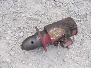International Farmall 340 Utility Ih Tractor Working Starter Assembly