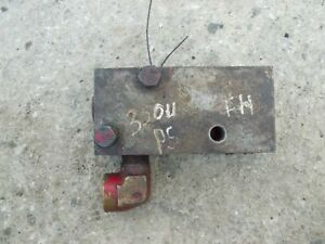 International Farmall 350 Utility Tractor Rear Back Powersteering Hyd Flow Valve