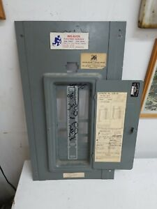 Federal Pacific Fpe Stab Lok Circuit Breaker Panel Box Cover Model L 120 40